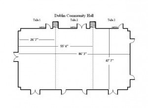 community hall diagram