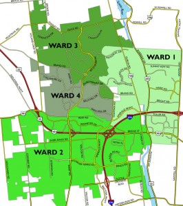 voting ward map