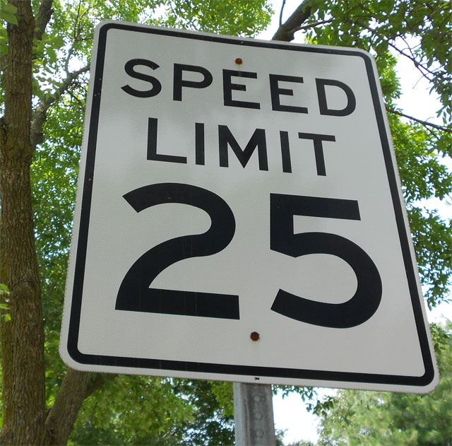 Speed Limits Where Do They Come From Dublin Ohio Usa