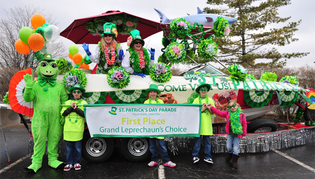 Be a part of Dublin's St. Patrick's Day Parade!