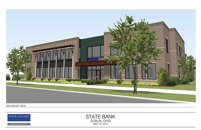 Dublin Ohio USA State Bank