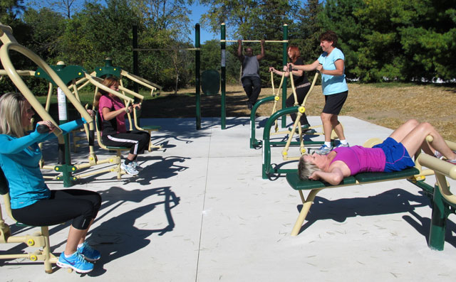 Outdoor Exercise Equipment Outdoor Exercise Equipment Was