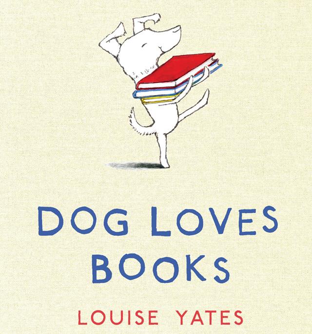 Dog-Loves-Books
