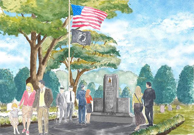 KIA Memorial Rendering-web