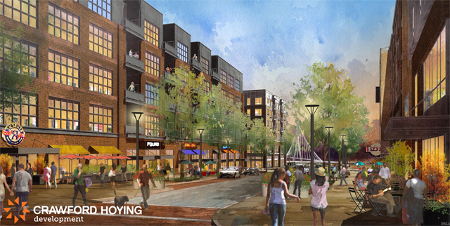 Dublin, Ohio, USA » Crawford Hoying will present Bridge Park mixed use development plans to ...