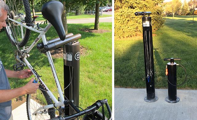 dublin ohio usa bike repair stations. Black Bedroom Furniture Sets. Home Design Ideas