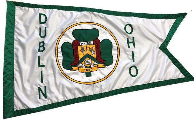 Dublin Ohio Usa 187 Dublin City Council Sponsors Flag