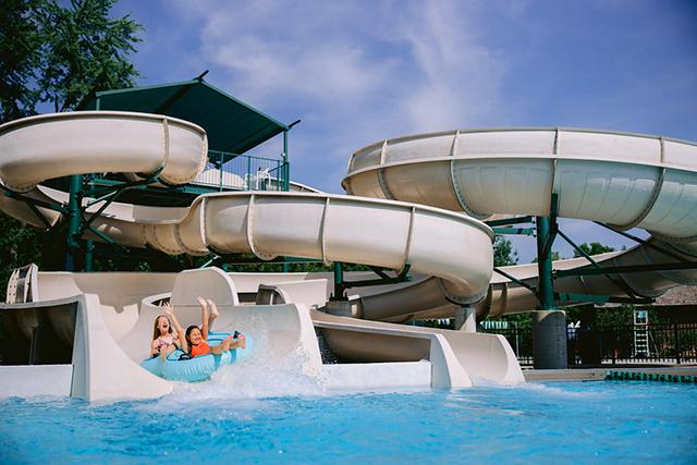 Dublin Ohio Usa Outdoor Community Pools